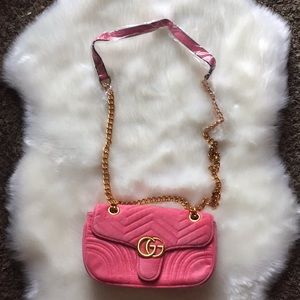 Gucci pink bag